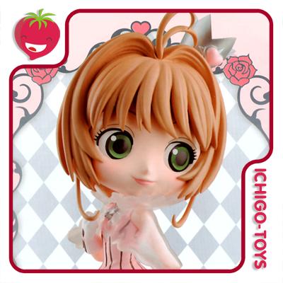 Qposket - Sakura Kinomoto Pink -  Cardcaptor Sakura: Clear Card  - Ichigo-Toys Colecionáveis