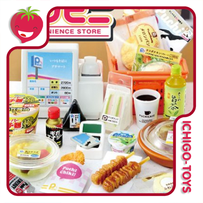 Re-ment Convenience Store - coleção completa!  - Ichigo-Toys Colecionáveis