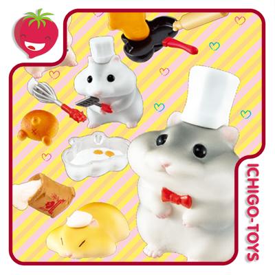 Re-ment Hamster Cake Shop - Coleção completa!  - Ichigo-Toys Colecionáveis