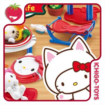 Re-ment Hello Kitty Cat Cafe - coleção completa!  - Ichigo-Toys Colecionáveis