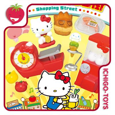 Re-ment Hello Kitty Shopping Street - Coleção Completa!  - Ichigo-Toys Colecionáveis
