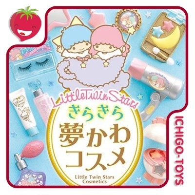 Re-ment Little Twin Stars Cosmetics - coleção completa!  - Ichigo-Toys Colecionáveis