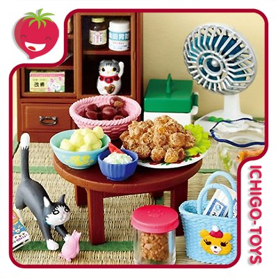 Re-ment Living Room of Kawamoto Family - Coleção completa!  - Ichigo-Toys Colecionáveis