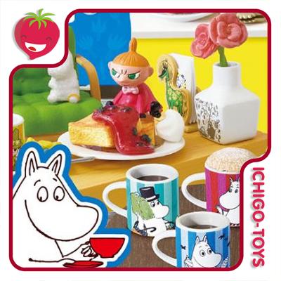 Re-ment Moomin Nordic Cafe - Coleção completa!  - Ichigo-Toys Colecionáveis