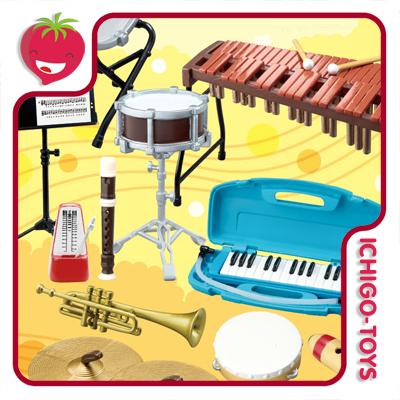 Re-ment Music Room - 1/12 - Coleção Completa!  - Ichigo-Toys Colecionáveis