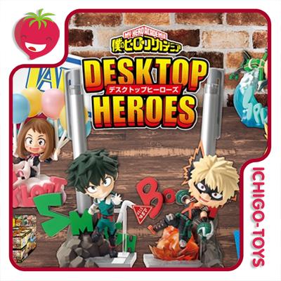 Re-ment My Hero Academia Desktop Heroes - Coleção completa!  - Ichigo-Toys Colecionáveis