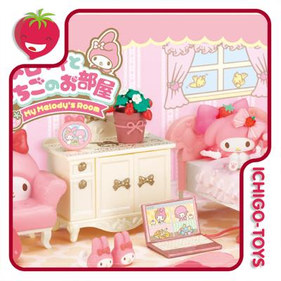 Re-ment My Melody and Strawberry Room - coleção completa!  - Ichigo-Toys Colecionáveis
