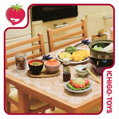 Re-ment Our Dinning Table  - Ichigo-Toys Colecionáveis