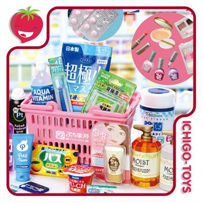 Re-ment Petit Sample Drug Store - 1/6 - Coleção completa!  - Ichigo-Toys Colecionáveis