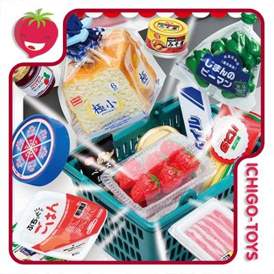 Re-ment Petit Sample House Supermarket - coleção completa!  - Ichigo-Toys Colecionáveis