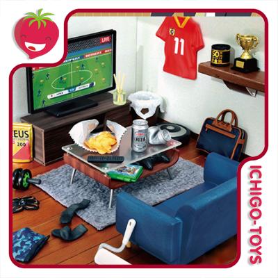 Re-ment Petit Sample Mens Room - coleção completa!  - Ichigo-Toys Colecionáveis