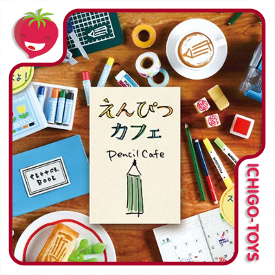 Re-ment Petit Sample - Pencil Cafe - coleção completa!  - Ichigo-Toys Colecionáveis