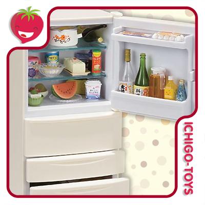 Re-ment Petit Sample Refrigerator  - Ichigo-Toys Colecionáveis
