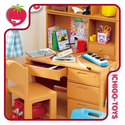 Re-ment Petit Sample - Study Desk  - Ichigo-Toys Colecionáveis