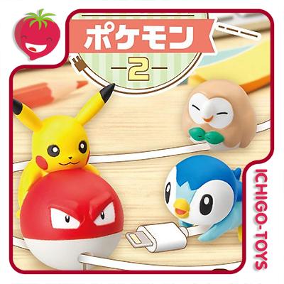 Re-ment Pokémon Cord Keeper! Vol2 Coleção completa!  - Ichigo-Toys Colecionáveis