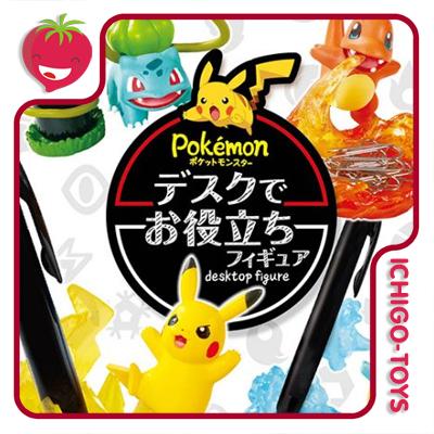 Re-ment Pokémon Desktop Figure vol1  - Ichigo-Toys Colecionáveis