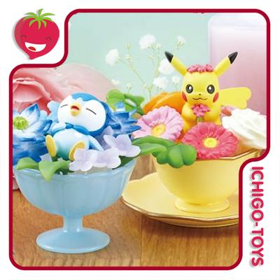 Re-ment Pokémon Floral Cup 2 - coleção completa!  - Ichigo-Toys Colecionáveis