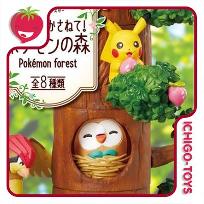 Re-ment Pokémon Forest - coleção completa!  - Ichigo-Toys Colecionáveis