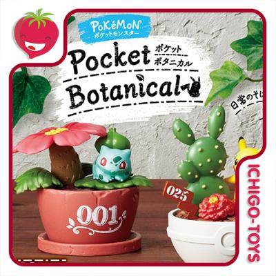 Re-ment Pokémon Pocket Botanical - coleção completa!  - Ichigo-Toys Colecionáveis