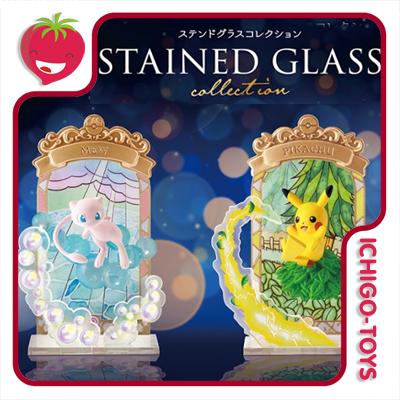 Re-ment Pokémon: Stained Glass - coleção completa!  - Ichigo-Toys Colecionáveis