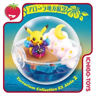 Re-ment Pokémon Terrarium DX Alola 2 - coleção completa!  - Ichigo-Toys Colecionáveis