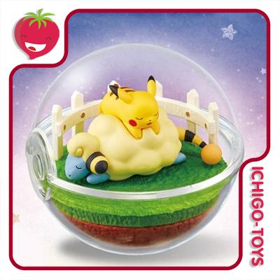 Re-ment Pokémon Terrarium Vol.4 - coleção completa!  - Ichigo-Toys Colecionáveis
