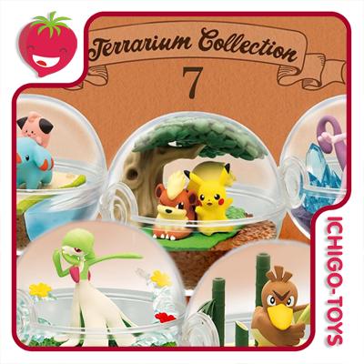 Re-ment Pokémon Terrarium Vol.7 - coleção completa!  - Ichigo-Toys Colecionáveis