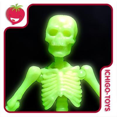 Re-ment Pose Skeleton - 03 Adult Human - Glow in the Dark  - Ichigo-Toys Colecionáveis