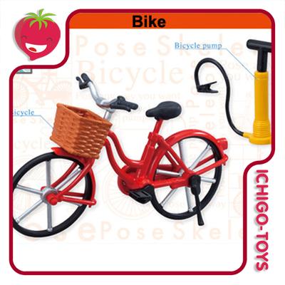Re-ment Pose Skeleton - 19 Bike  - Ichigo-Toys Colecionáveis