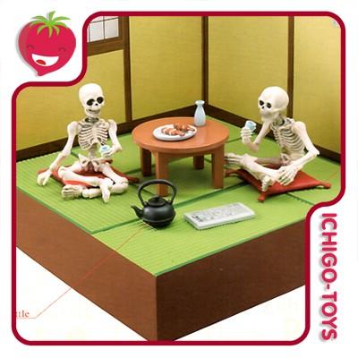 Re-ment Pose Skeleton - 27 Japanese Room  - Ichigo-Toys Colecionáveis