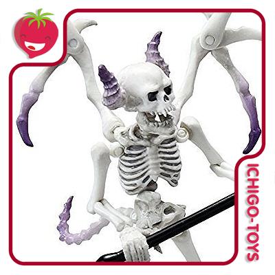 Re-ment Pose Skeleton - Not Human - 01 Demon  - Ichigo-Toys Colecionáveis