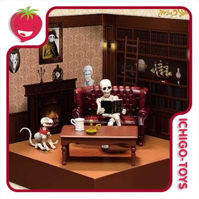 Re-ment Pose Skeleton - Western Room  - Ichigo-Toys Colecionáveis