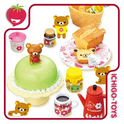Re-ment Rilakkuma European Kitchen - coleção completa!  - Ichigo-Toys Colecionáveis