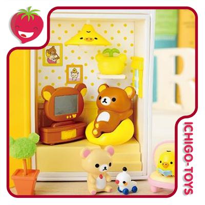 Re-ment Rilakkuma Happy Little Book - Coleção completa!  - Ichigo-Toys Colecionáveis