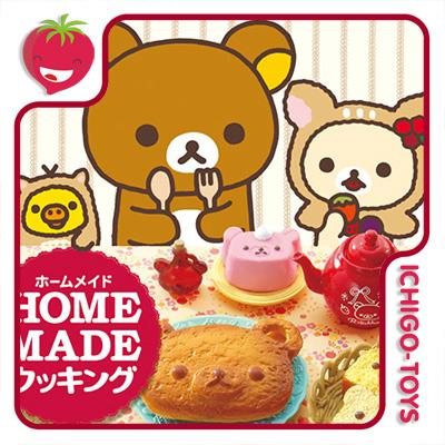 Re-ment Rilakkuma Homemade Cooking  - Ichigo-Toys Colecionáveis