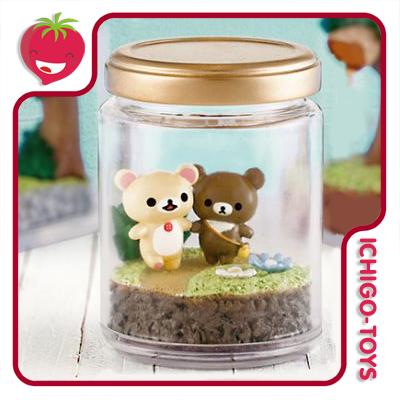 Re-ment Rilakkuma Honey Forest Terrarium - avulsos!  - Ichigo-Toys Colecionáveis