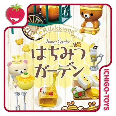 Re-ment Rilakkuma Honey Garden - coleção completa!  - Ichigo-Toys Colecionáveis