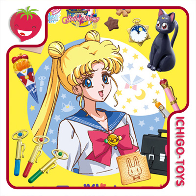 Re-ment Sailor Moon Crystal - Everyday Warrior - coleção completa!  - Ichigo-Toys Colecionáveis