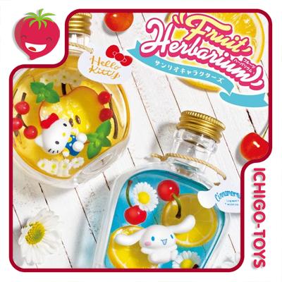 Re-ment Sanrio Fruit Herbarium - Coleção completa!  - Ichigo-Toys Colecionáveis