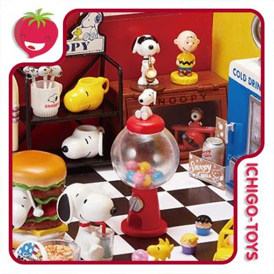 Re-ment Snoopy American Zakka! Coleção Completa!  - Ichigo-Toys Colecionáveis