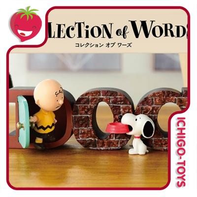 Re-ment Snoopy Collection of Words - avulsos!  - Ichigo-Toys Colecionáveis