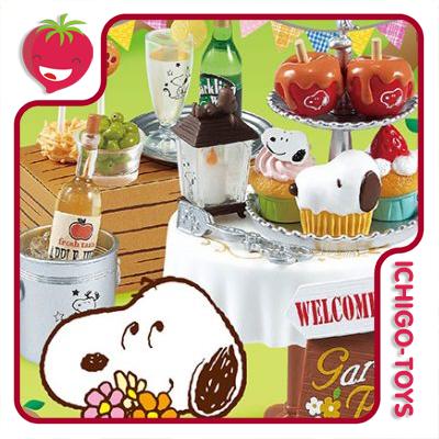 Re-ment Snoopy Garden Party - Coleção completa!  - Ichigo-Toys Colecionáveis