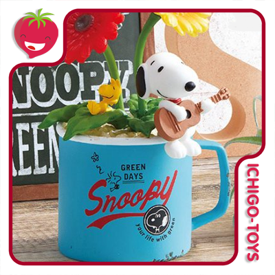 Re-ment Snoopy Green Days - coleção completa!  - Ichigo-Toys Colecionáveis