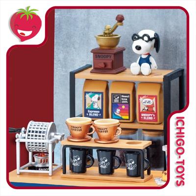 Re-ment Snoopy Roastery and Cafe - coleção completa!  - Ichigo-Toys Colecionáveis