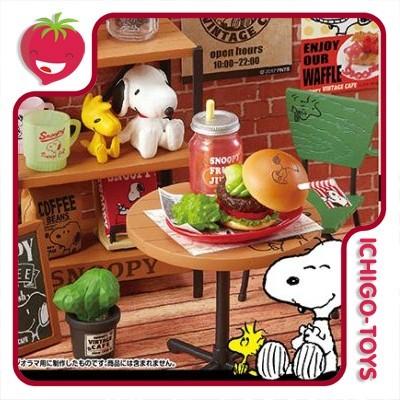 Re-ment Snoopy Vintage Cafe - Coleção Completa!  - Ichigo-Toys Colecionáveis
