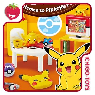 Re-ment Pokémon - Welcome to Pikachu Room! - coleção completa!  - Ichigo-Toys Colecionáveis