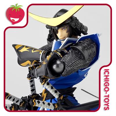 Revoltech Yamaguchi 079 - Masamune Date - Sengoku Basara  - Ichigo-Toys Colecionáveis