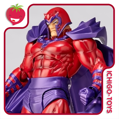 Revoltech Amazing Yamaguchi 006 - Magneto - The Uncanny X-Men  - Ichigo-Toys Colecionáveis