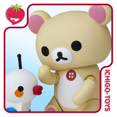 Revoltech Character Revo 002 - Korilakkuma - Rilakkuma  - Ichigo-Toys Colecionáveis