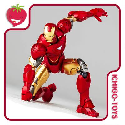 Revoltech Legacy LR 040 - Iron Man Mk VI - Iron Man 2  - Ichigo-Toys Colecionáveis